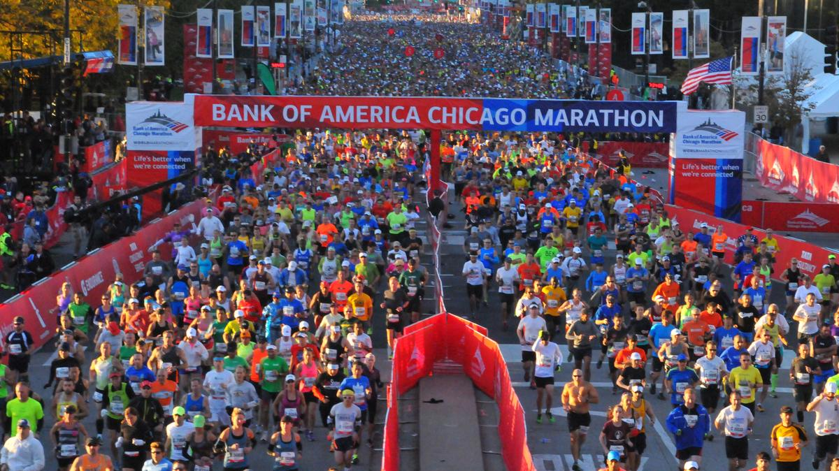 Chicago Marathon Race Day Preparation
