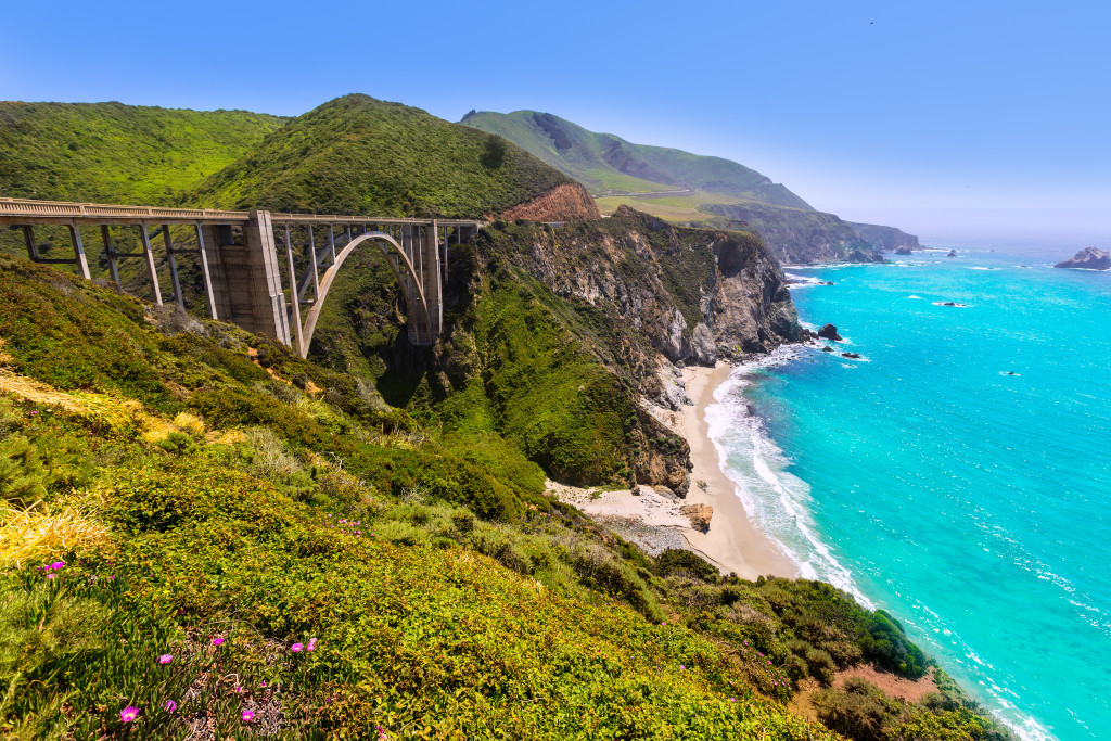 Bixby Bridge  - Big Sur - Top 10 Marathons in the US