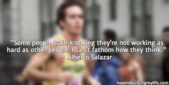 Alberto Salazar Running Quotes