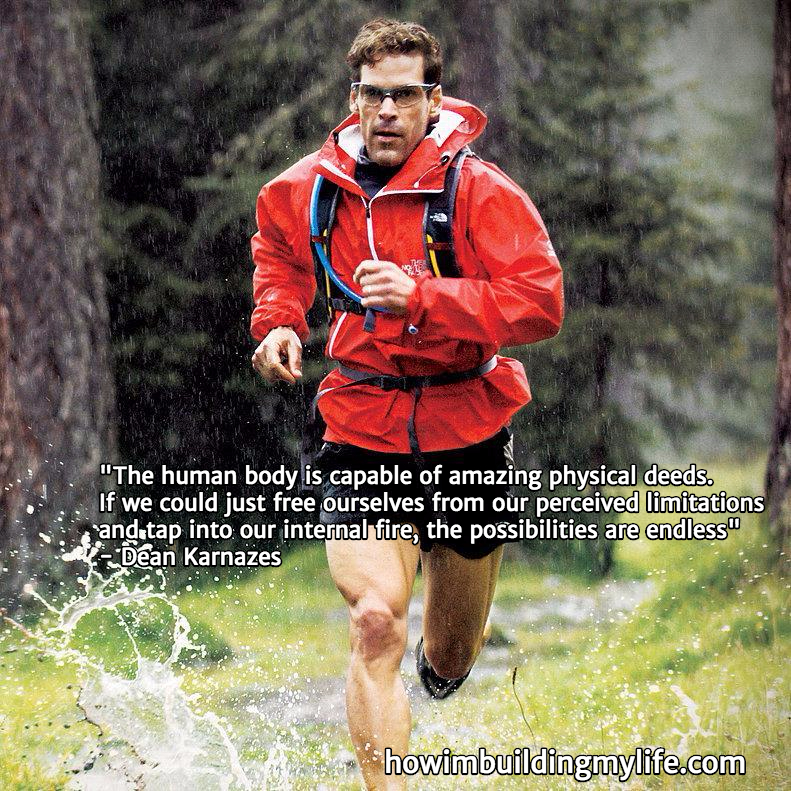 Dean Karnazes Running Quote