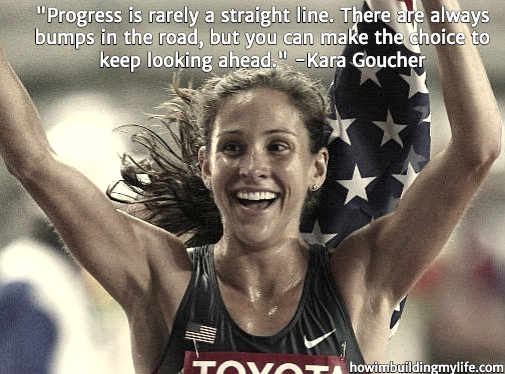 Kara Goucher Running Quotes